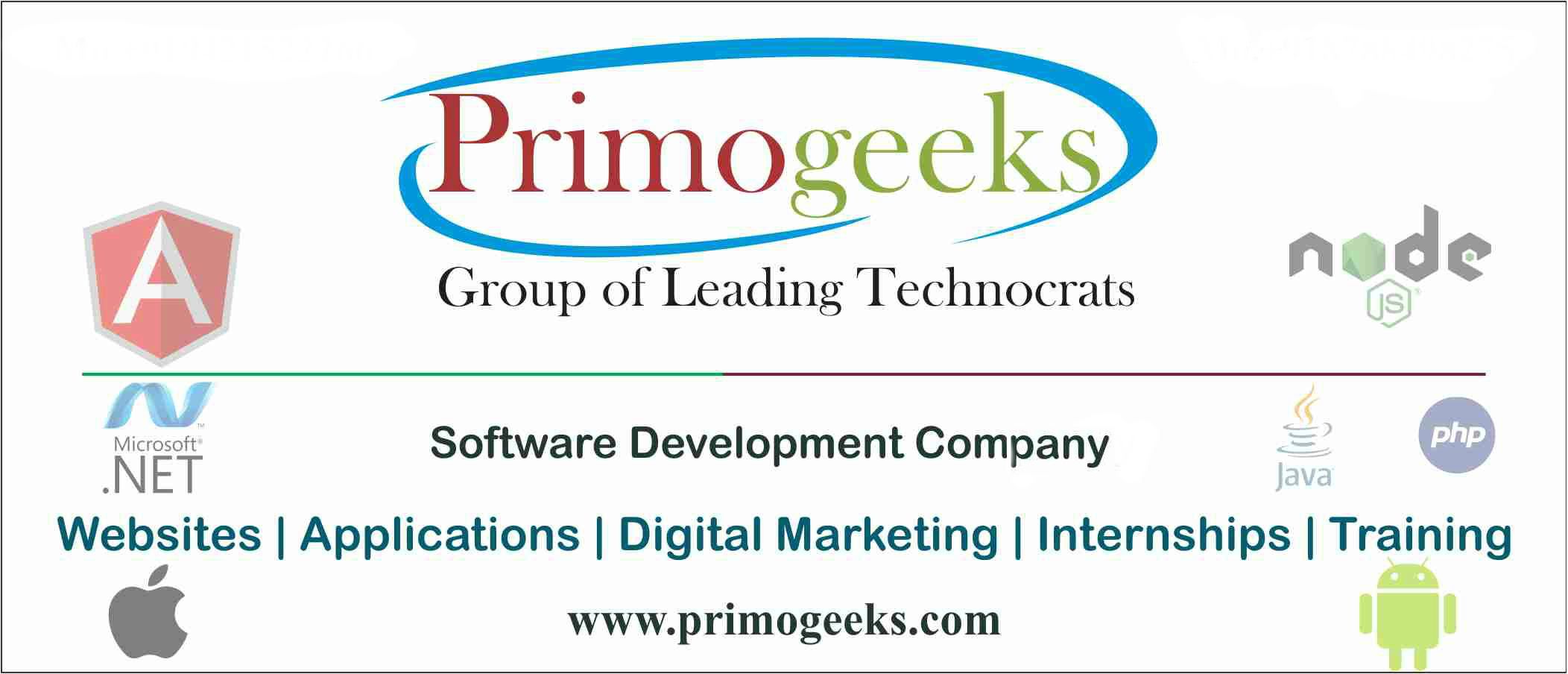 Web / Application / Software Development Company, Designing